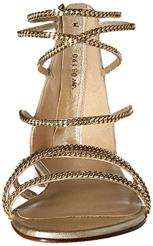 Chaindown Delle Sandalo Piatto Donne Perla Weitzman Stuart 5qwpAM