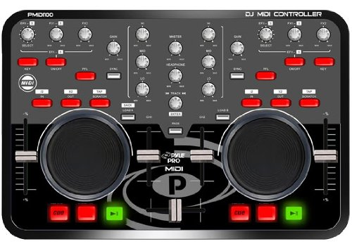 Pyle PMIDI100 Professional Digital MIDI Controller w/VIRT...