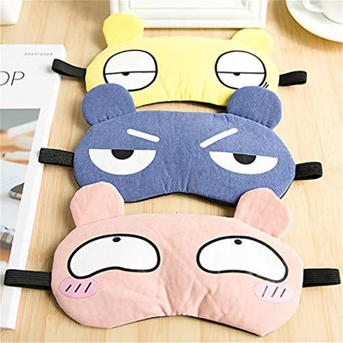 LZIYAN Sleep Masks Cartoon Sleep Eye Mask Soft Cute Eyeshade Eyepatch Travel Sleeping Blindfold Nap Cover,Gray by LZIYAN (Image #5)