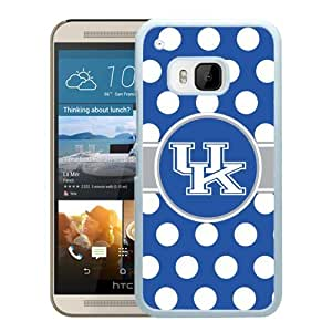 NCAA Kentucky Wildcats 2 White Customize HTC ONE M9 Phone Cover Case