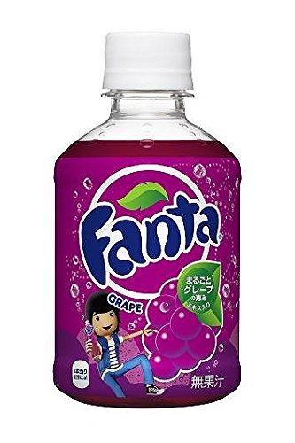 Manufacturer directly (24 SETX2 case) Fanta Grape 280ml PET bottles by Fanta