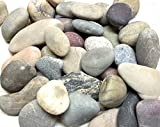 Glacier Rivers, River Rocks for Painting, Art Supplies for Kids, Arts and Crafts for Girls and Boys. Clay To Hold Your Rock. Extra Large. Approximately 3 to 5 Inches. 4Lbs