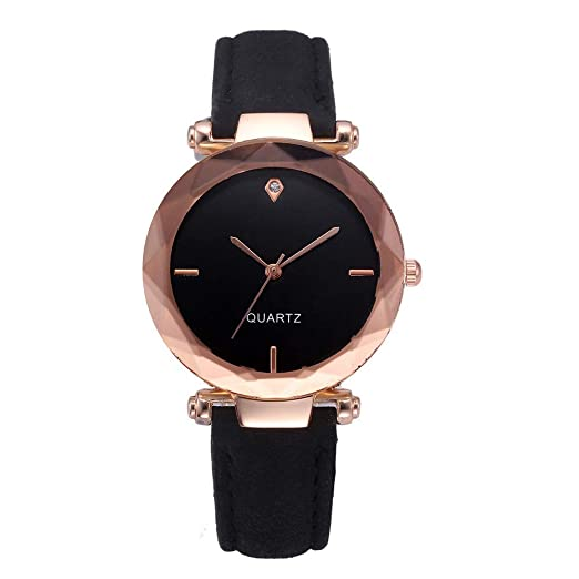 Amazon.com: Watches for Women, DYTA Leather Watch Strap 22mm ...