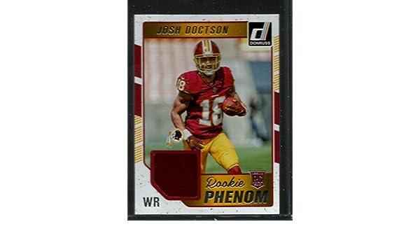 af47dc498 Amazon.com  2016 Donruss Rookie Phenom Jerseys  40 Josh Doctson NM-MT MEM  Redskins  Collectibles   Fine Art