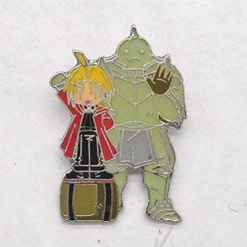 NEW Fullmetal Alchemist Edward & Alphonse Elric Pin Badge