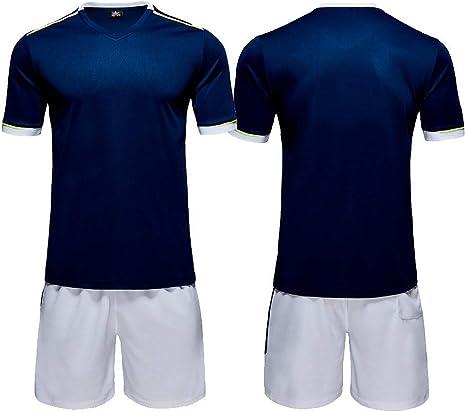 BUY-TO Conjunto de Pantalones de Jersey de fútbol Chándal de Manga ...
