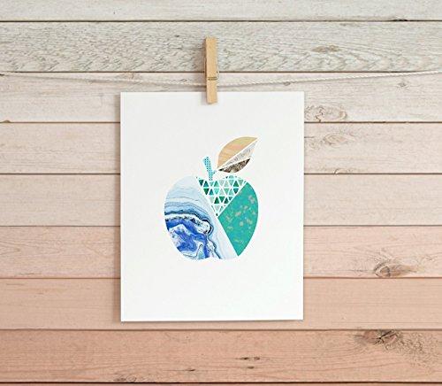 Patterned Apple Cardstock Print 8.5 x11 (Apple Cardstock)