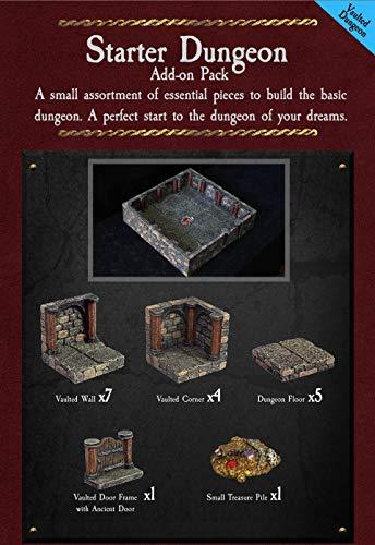 [해외]Dwarven Forge Unpainted (Gray) Starter Dungeon Set (Photo Shows Painted Set) / Dwarven Forge Unpainted (Gray) Starter Dungeon Set (Photo Shows Painted Set)