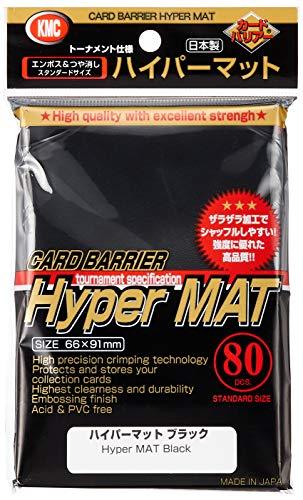 KMC Full Size Hyper Matte Sleeves (80-Pack),