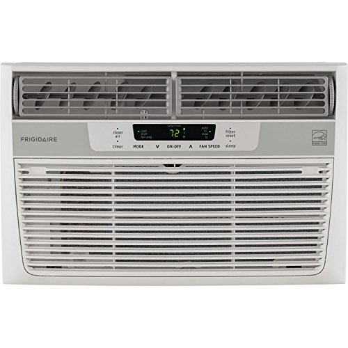 Safety 10 Unit - Frigidaire FFRE0633S1 6,000 BTU 115V Window-Mounted Mini-Compact Air Conditioner with Full-Function Remote Control