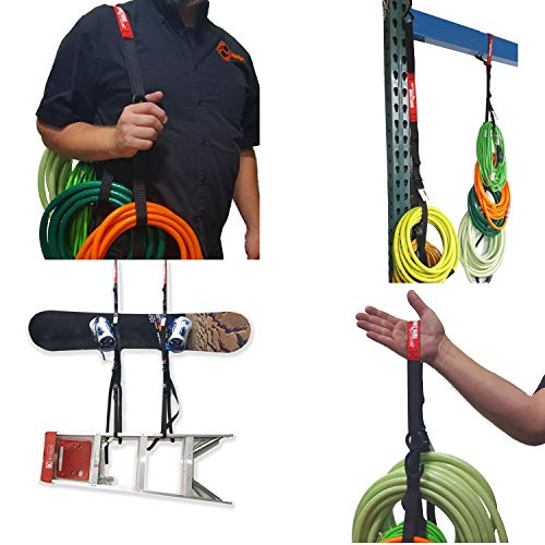 Hook & Hang Extreme, USA Made Heavy Duty Strap with (4) Large 30