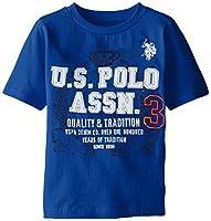 U.S. Polo Assn. Boys' Crew Neck T-Shirt ...