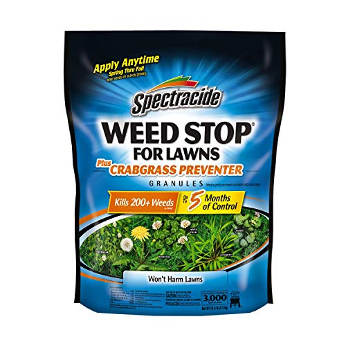 Spectracide Weed Stop For Lawns Plus Crabgrass Preventer Granules, (Best Lawn Pre Emergents)
