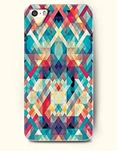 SevenArc Phone Skin Apple iPhone case for iPhone 5 5s ( 5C EXCLUDED ) -- Multi-Colored Geometric Pattern