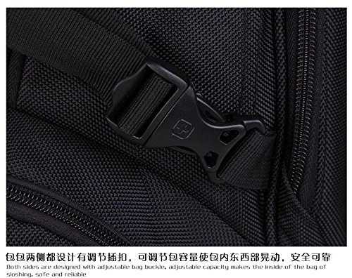 Black Nylon Shoulders 14 15 Business inch Laptop Daypack Backpack xzP8qwzg