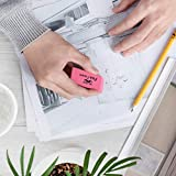 Mr. Pen- Erasers, Pink Erasers, Pack of 12, Pink