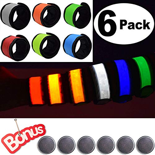 ANYTINUS LED Bracelets Light Up Wristbands Glow Armband
