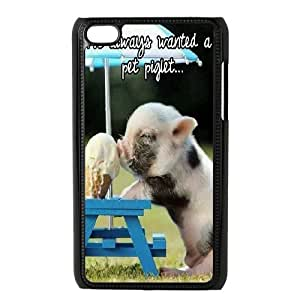 AKERCY Cute Pig Phone Case For Ipod Touch 4 [Pattern-5]
