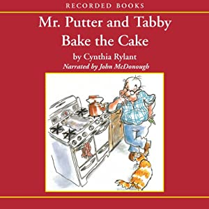 Mr. Putter and Tabby Bake the Cake Audiobook