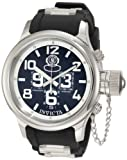 Invicta Men's 4578-SN Russian Diver Chronograph Black Dial Black Polyurethane Watch