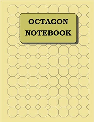 Octagon Notebook: 1 inch diameter (3/8\