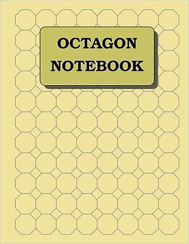 Octagon Notebook: 1 inch diameter (3/8\
