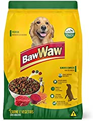 Ração Baw Waw para cães sabor carne e vegetais, 15kg