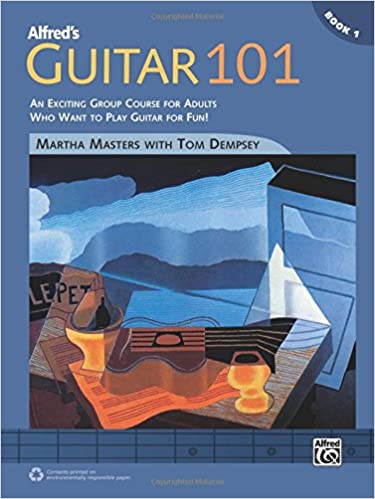 Book Alfred's Guitar 101, Bk 1: An Exciting Group Course for Adults Who Want to Play Guitar for Fun!, Comb Bound Book (101 Series)