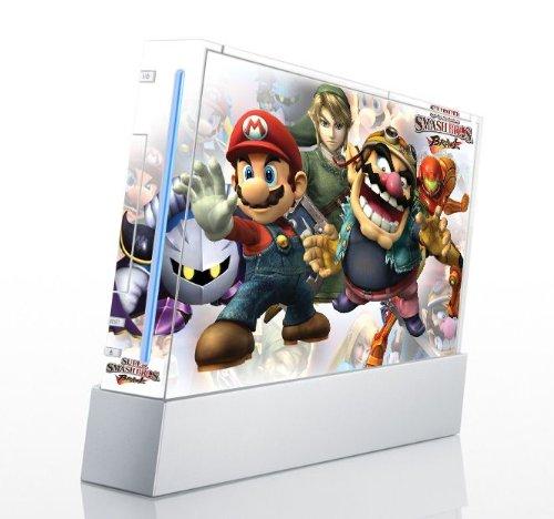 (Super Smash Bros Brawl Game Skin for Nintendo Wii Console)