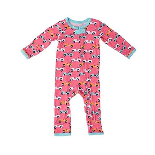 Kozi & Co.. Girls Baby and Toddler Romper