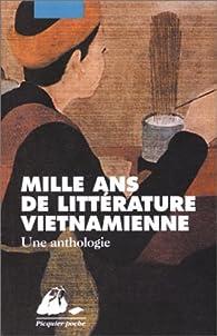 Mille ans de littérature vietnamienne par Nguyen Khac Vien