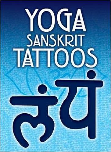 Yoga Sanskrit Tattoos Dover Tattoos Anna Pomaska 0800759477081