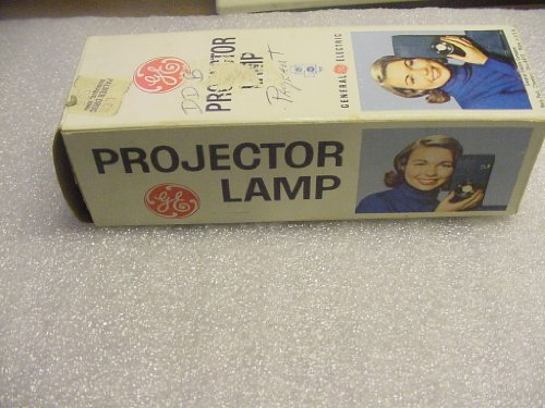 Projection Lamp GE DFD 115-120 Volt, 1000 Watt. Vintage. New Old Stock.