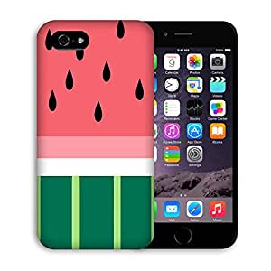Iphone 6 Case, Casestars watermelon summer fruit yummy Protective 3D White Case Cover for Apple iPhone 6 4.7