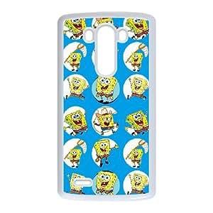 LG G3 phone case White Sponge Bob AASD3130908
