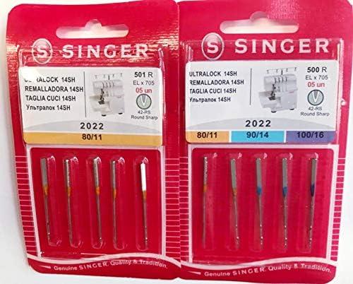 Nähmaschinenzubehör24 Singer - Agujas para máquina de Coser Singer ...