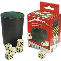Nürnberger-Spielkarten-Verlag - Cubilete de dados, de 2 a