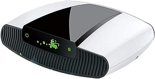 Hammer Purificador de Aire, Limpiador alérgica Aire, Polvo, Humo, Polen, el Olor y la caspa de Mascotas, Puerto de Carga USB ionizador for Ministerio del Interior, ambientador de Aire purificador: Amazon.es: Hogar