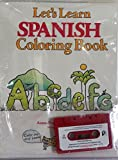 img - for Let's Learn Spanish Coloring Book (Book and Cassette) (Spanish and English Edition) book / textbook / text book