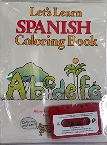 Let\'s Learn Spanish Coloring Book (Book and Cassette) (Spanish and ...