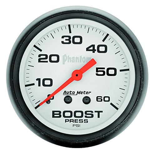 - Auto Meter 5705 Phantom Mechanical Boost Gauge