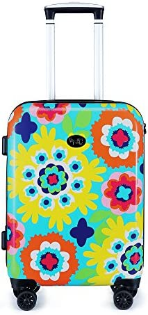 Sus 20-inch Hardside Carry-on Spinner Luggage, TSA-Approved Lock, Hard-Case, Rolling Suitcase