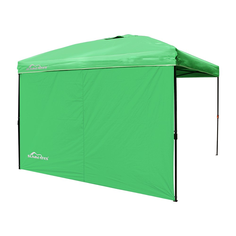 10Ftx10Ft Instant Pop Up Booth Canopy Side Wall Outdoor C&ing Shade Green New  sc 1 st  eBay & 10Ftx10Ft Instant Pop Up Booth Canopy Side Wall Outdoor Camping ...