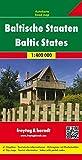 Baltische Staaten, Autokarte 1:400.000, freytag & berndt Auto + Freizeitkarten