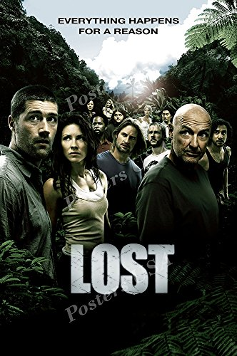 Lost Tv Show Poster - Posters USA - Lost TV Series Show Poster GLOSSY FINISH - TVS152 (24