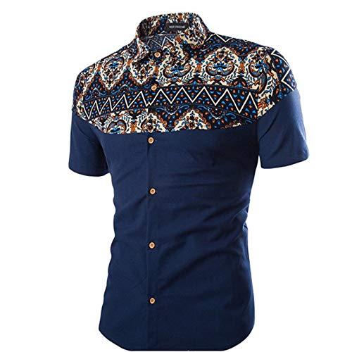 Iyfbxl Hombre Color De Sólido Básica Camisa Black rwqUCgprx