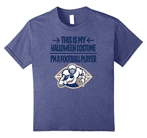 Football Player Halloween Costume Tshirt - Men Women Youth
