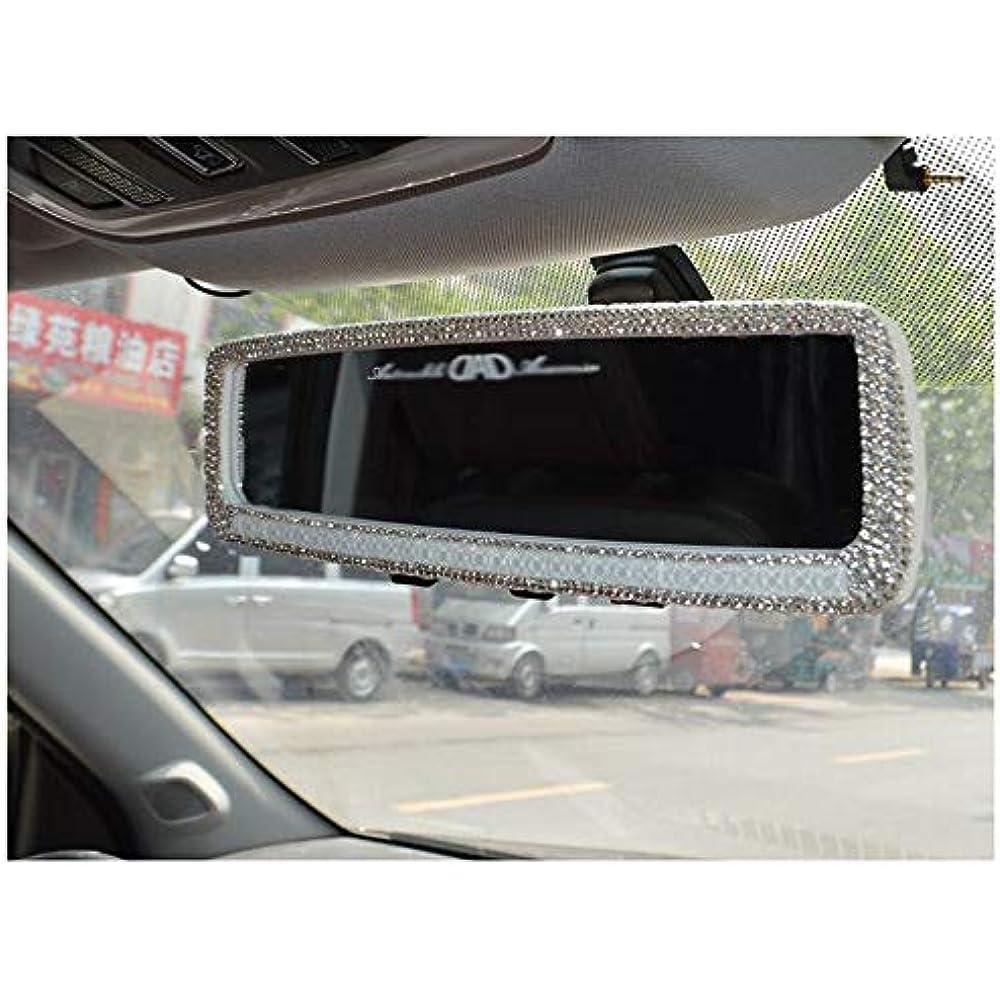 Bling Rhinestones Car Rearview Mirror Girls Auto ...