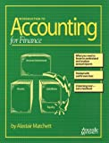 Introduction to Accounting for Finance, Alastair Matchett, 1891112546