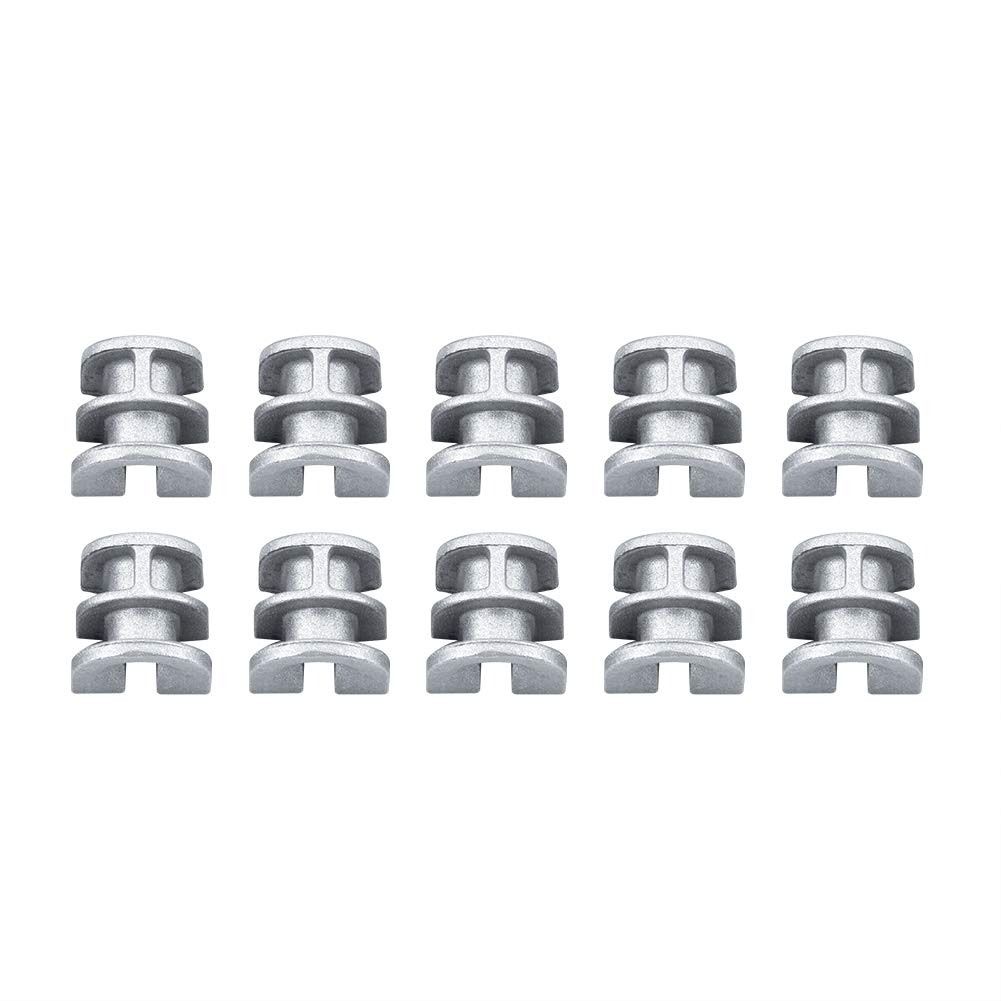 Garosa 10PCS Lawn Mower Trimmer Head Eyelet Sleeves Fit for STIHL 25-2 Autocut Trimmer Head 4002 713 8300 8301